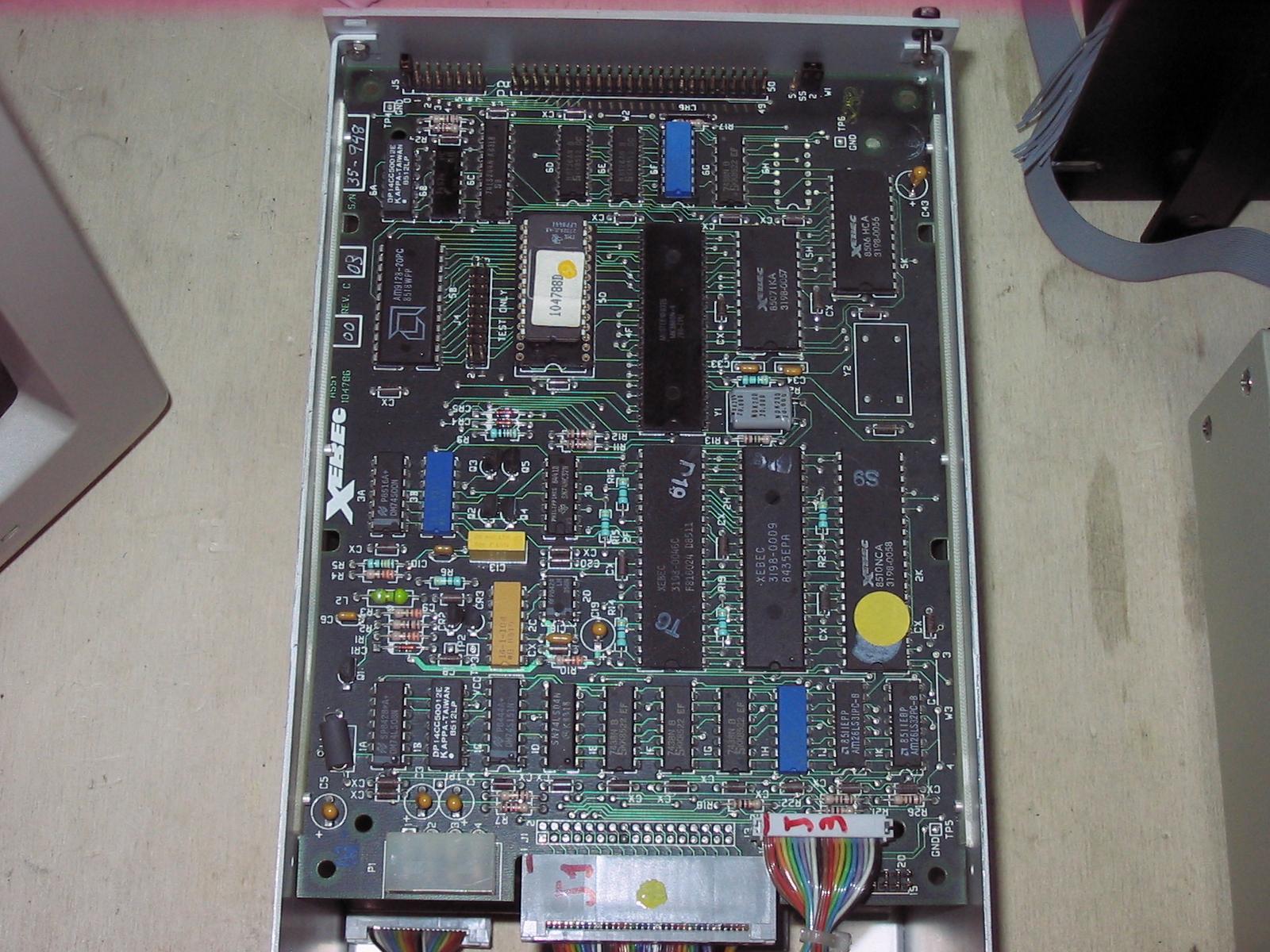 The Home Of Z80 Ne Il Computer Di Nuova Elettronica Ram Chips With Binary Code A Circuit Board Memory Xebec S1410a Controller