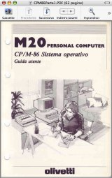 Olivetti M20 CP/M-86 user guide