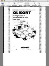 OLISORT manual