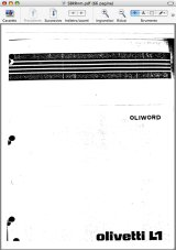 Oliword user manual