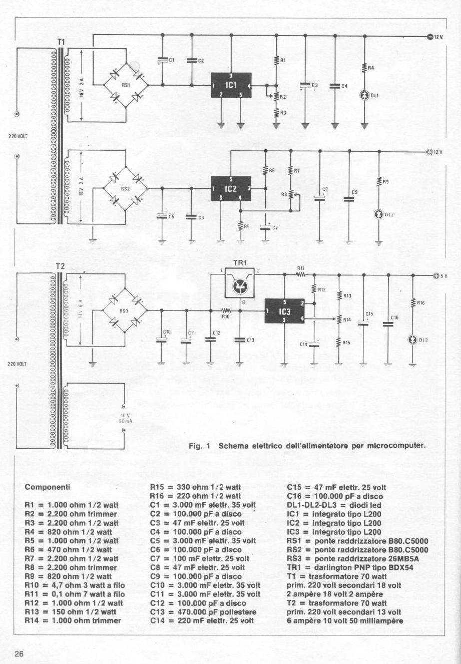 Schemi Elettrici Kit Nuova Elettronica : The home of z n e il computer di nuova elettronica
